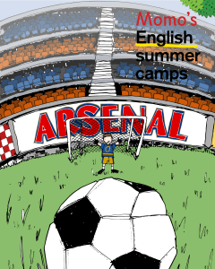 Momo's English Summer Camps arsenal football
