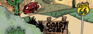USA Coast to Coast!